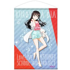 Love Live! Sunshine!! Dia Kurosawa Pajamas Ver. B2-Size Wall Scroll