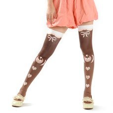 Zettairyoiki Latte Art Thigh-High Tights