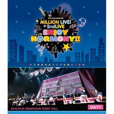The Idolm@ster Million Live! 2nd Live Enjoy Harmony!! Live Blu-ray Day 1