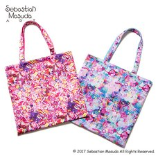 6%DOKIDOKI Colorful Rebellion Reversible Tote Bag