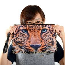 Misfits Animal Face Clutch Bags