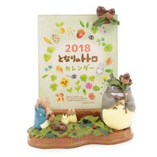 My Neighbor Totoro Tons of Acorns! Memo Holder w/ 2018 Calendar