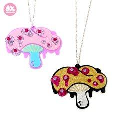 6%DOKIDOKI Desire Mushroom Necklaces
