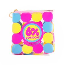 6%DOKIDOKI Logo Square Pouch