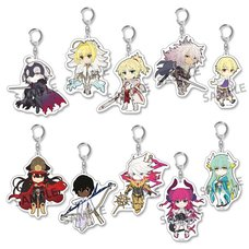 Pikuriru! Fate/Grand Order Trading Acrylic Keychain Charms Vol. 3 Box Set (Re-run)