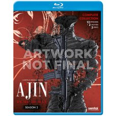 Ajin: Demi-Human Season 2 Blu-ray