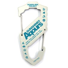 Love Live! Sunshine!! Aqours S-Shaped White Carabiner