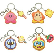 Kirby Cookie Keychains