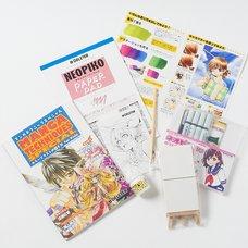 Deleter Manga Set Color Illust M