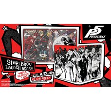Persona 5: SteelBook Launch Edition (PS4)