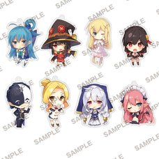 Konosuba: God's Blessing on This Wonderful World! Trading Acrylic Keychain Collection Vol. 2 Box Set