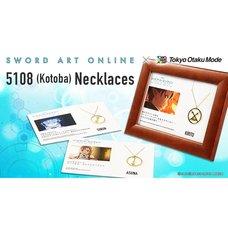 Sword Art Online 5108 (Kotoba) Necklaces