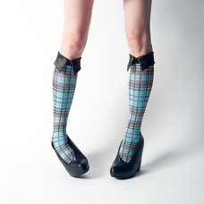 ERIMAKI SOX Tartan Checkered High Socks