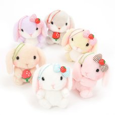 Pote Usa Loppy Strawberry Plush Collection (Ball Chain)