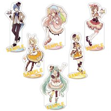 Vocaloid Sweets Acrylic Stand Collection