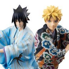G.E.M. Series Naruto Shippuden Naruto & Sasuke Kabuki Ver.
