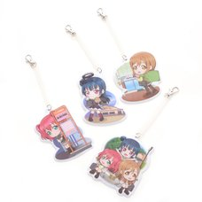 Kyun Chara Illustrations Love Live! Sunshine!! Let's Go to Numazu! Name Tags Vol. 2