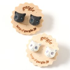 gargle Cat Earrings