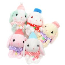 Pote Usa Loppy Snowman Rabbit Plush Collection (Standard)