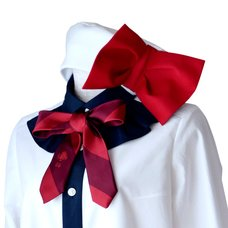 Neb aaran do Propeller Beret (White x Red)
