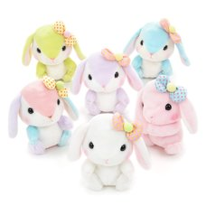 Pote Usa Loppy Colorful Rabbit Plush Collection (Standard)
