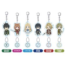 Nendoroid Plus The Rising of the Shield Hero Acrylic Keychain w/ Charm Collection