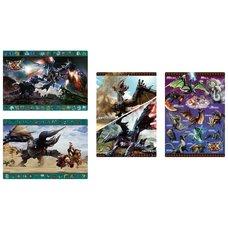 Monster Hunter XX Desk Mats