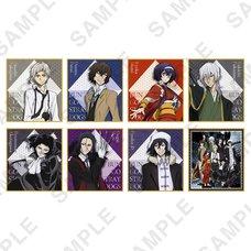 Bungo Stray Dogs Mini Shikishi Board Collection Vol. 2 Box Set