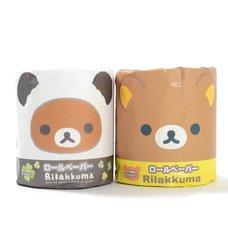 Rilakkuma Panda de Goron Toilet Paper