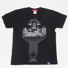 Chuo Department Store/Infographics T-Shirt (Black)