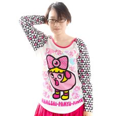 Mameshi Pamyu Pamyu Multiplying Pamyu Raglan Big Tee