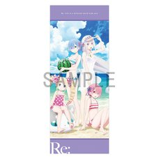 Re:Zero -Starting Life in Another World- Everlasting Summer Big Towel
