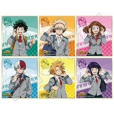 My Hero Academia B6 Shikishi Collection Box Set