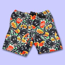 NUEZZZ EiGHT ARMS All-Over Print Shorts