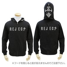Rebuild of Evangelion 10th Angel Black Full-Zip Hoodie