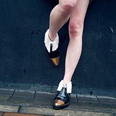 ERIMAKI SOX Fringe Short Socks