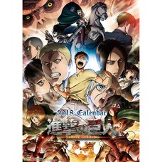 Attack on Titan 2018 Calendar