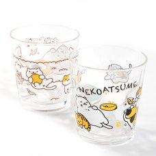 Neko Atsume Acrylic Cups