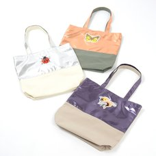 FLAPPER Embroidered Little Critter Tote Bags