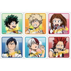 My Hero Academia Clear Badge Collection