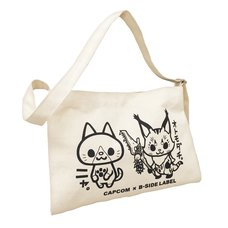 Monster Hunter: World B-Side Label Musette Bag