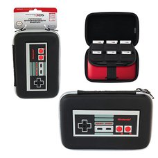New 3DS XL Retro NES Hard Pouch Case