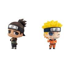Chimi-Mega Buddy Series Naruto Iruka Umino & Naruto Uzumaki