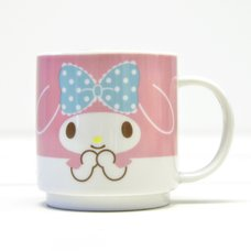 My Melody Face Stacking Mug