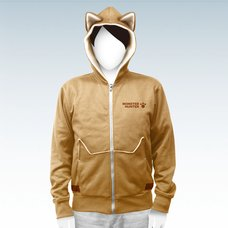 Monster Hunter Airou Full-Zip Hoodie