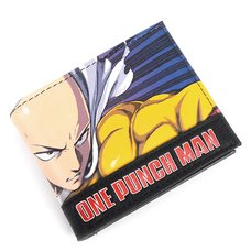 One-Punch Man Character Bi-Fold Wallet