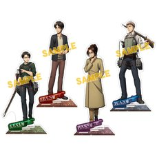 Attack on Titan Acrylic Stand Figure Collection