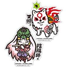 Capcom x B-Side Label Okami Sticker Collection