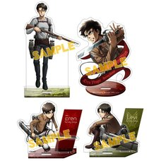 Attack on Titan Stand Pop Acrylic Stand Collection