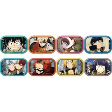 My Hero Academia Anime Scenes Character Badge Collection Box Set